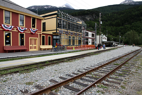 Skagway - By the Tracks