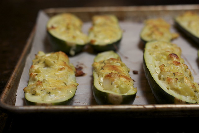 Stuffed Zucchini, Turkish Style
