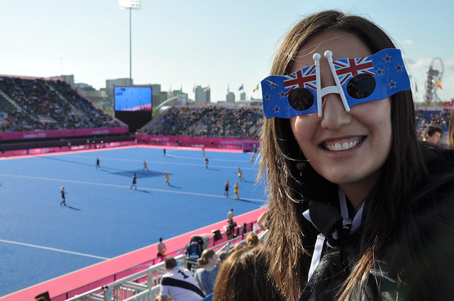Hideous NZ Flag sunglasses