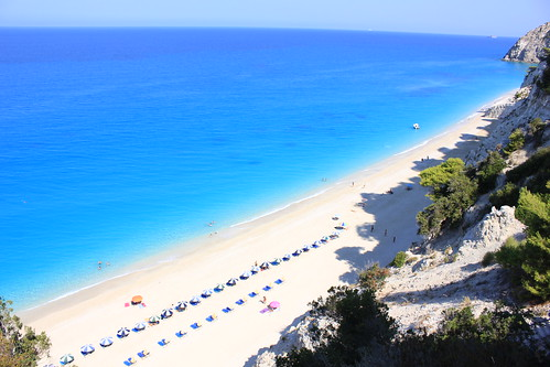 Egremnoi beach,Leukada island,Greece