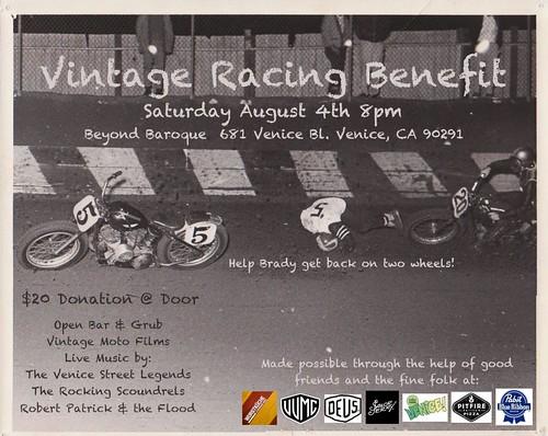 Brady Racing Benefit