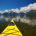 Kayaking On Jackson Lake