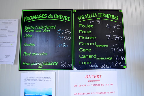 Fromages de Chevre Fermier - Loire Valley