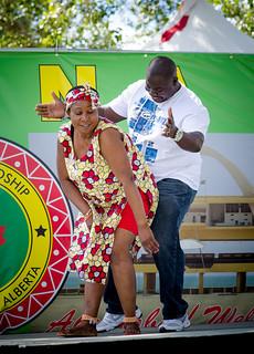 Ghana Dancing