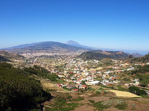 Mount Teide from La Laguna, Tenerife