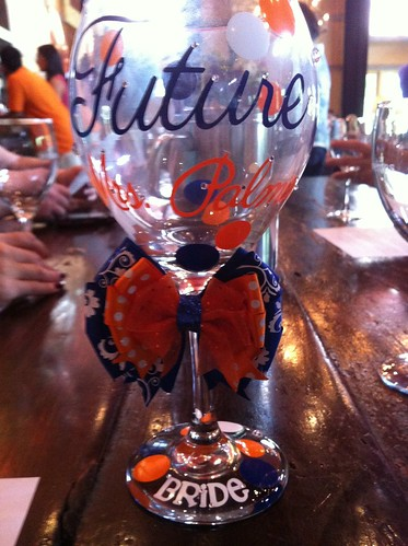 Personalized glass for Veritas