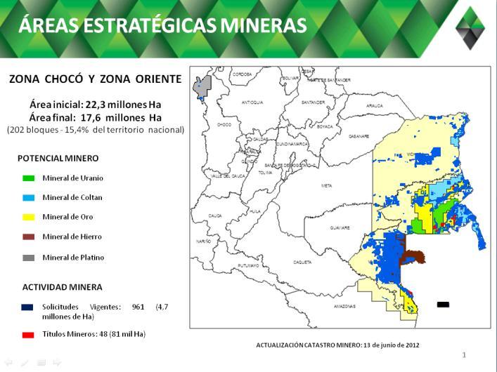 La reserva minera en la Amazonia que el Ministro de Ambiente
