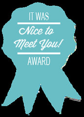 Nice To Meet You Award