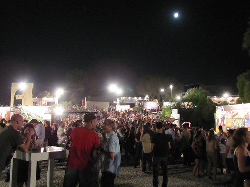 Wine Festival under the full moon
