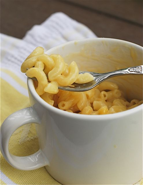 Mug of Mac and Cheese