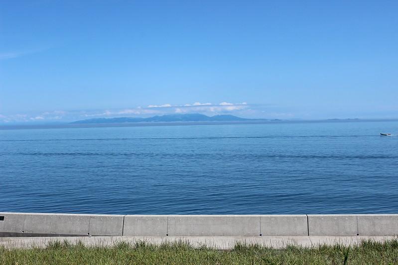海の向こう側に室蘭