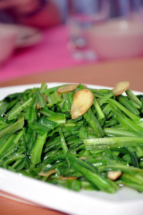 Stir Fried Dragon Chives
