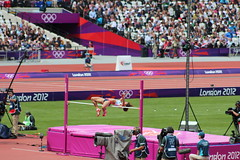 sprint(0.0), pole vault(0.0), race track(0.0), physical exercise(0.0), athletics(1.0), track and field athletics(1.0), sport venue(1.0), championship(1.0), sports(1.0), high jump(1.0), stadium(1.0), athlete(1.0),