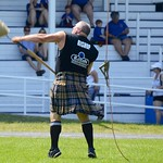 Pig Toss at the Glengarry Highland Games