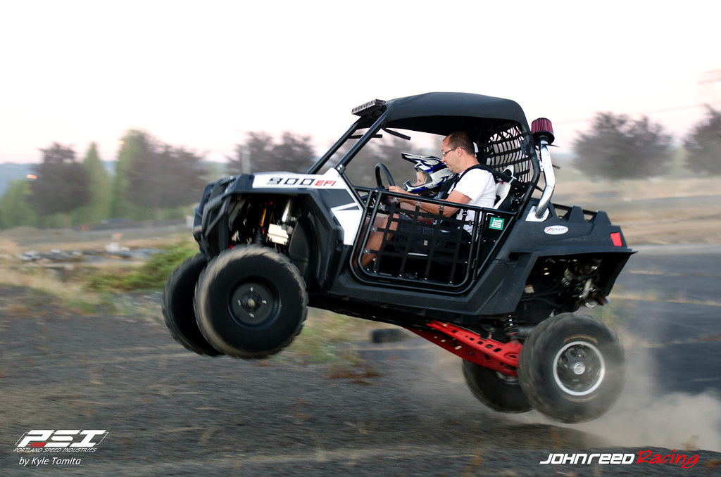 Field testing the PSI & JRR Turbo RZR - 003