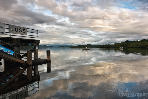 Luss by Dave Brightwell