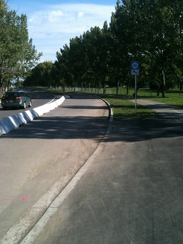 Ramp to Cycle Track