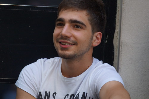 Young smile on Istiklal