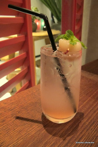 Chinta Ria Mood for Love - Lychee Mocktail