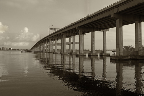 reflections landscapes florida bridges rivers infocus fortmyers highquality