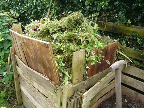Greedy Board compost bin