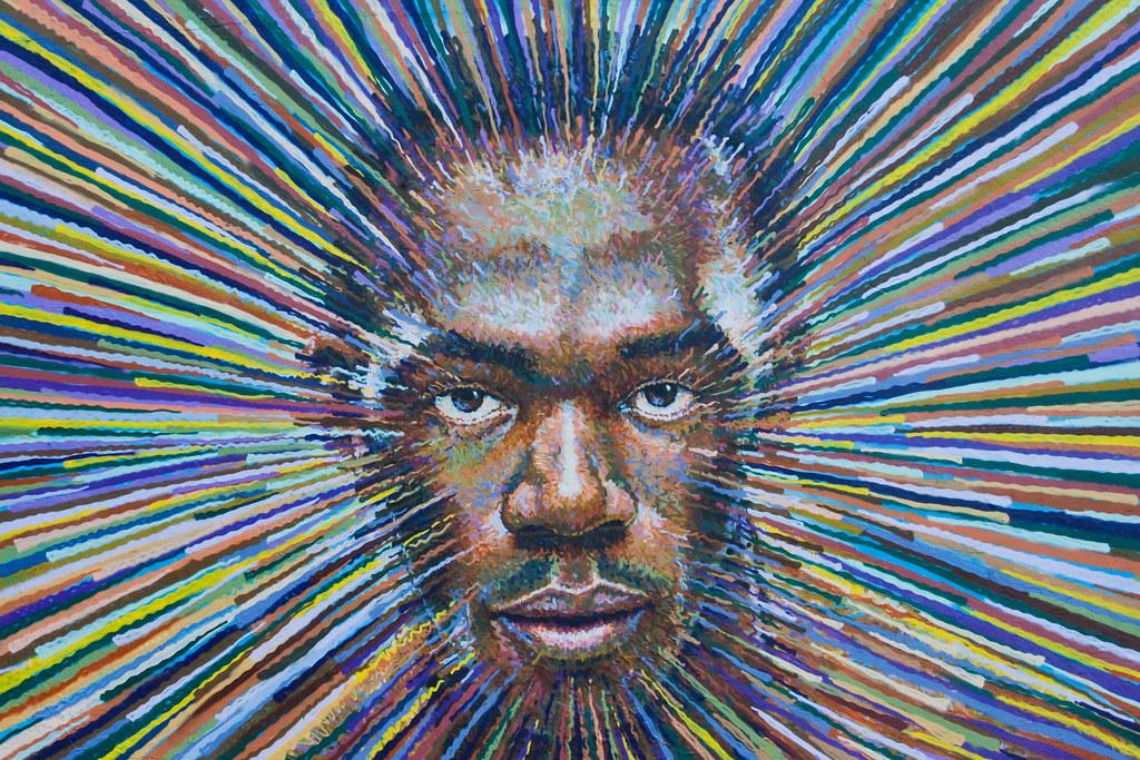 Olympic Graffiti - Usain Bolt
