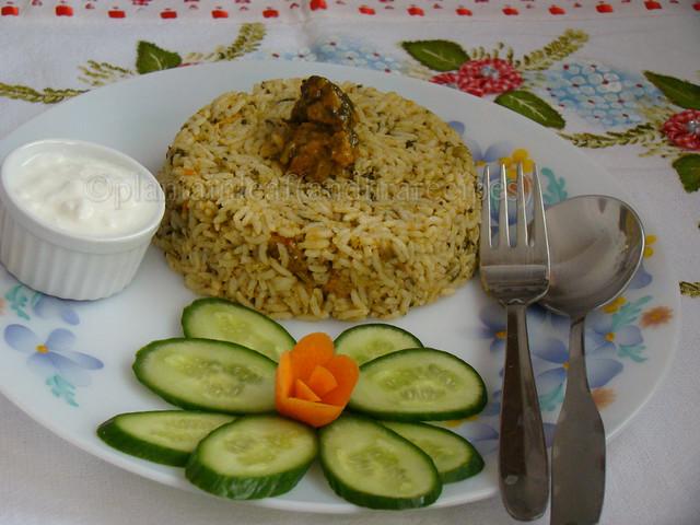 soya-palak rice