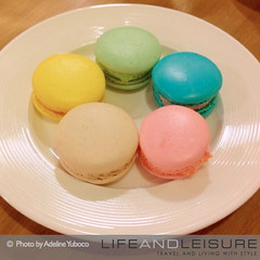 French macarones at Le Petit Cheri