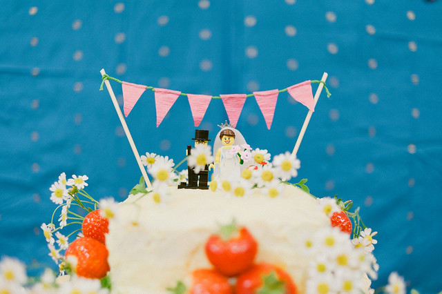 Bunting Wedding Cake Toppers Uk