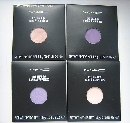 MAC+eyeshadows