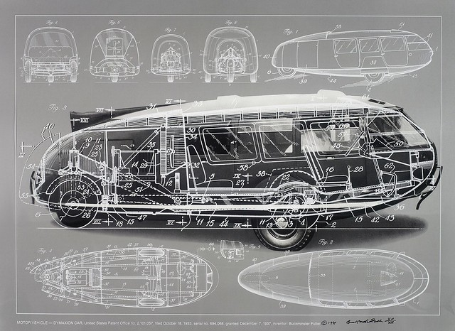 1933 Fuller Dymaxion Car