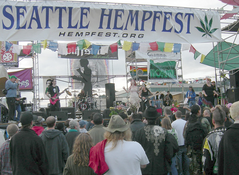 Seattle Hempfest |  FREE 3-Day Festival to Legalize It with Speakers & Live Music & Entertainment