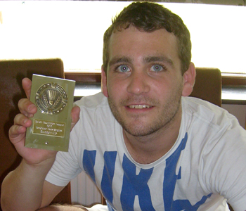 Bolton Badminton League Handicap Tournament 2012 Mens Singles Runner-up: Stefan Halsall