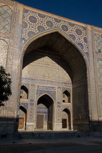 uzbekistan samarkand registan