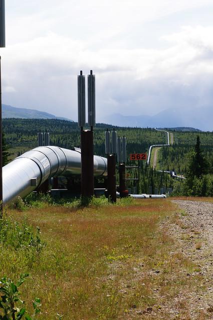 Alaskan Oil Pipeline [Richardson Highway, Alaska]