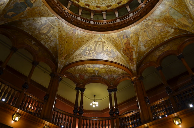 Interior of Flagler college