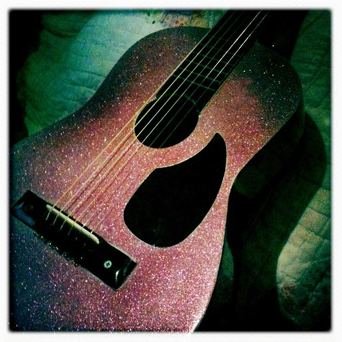 Glitter guitar redo