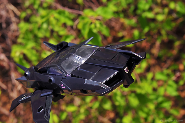 Jet Vehicon in flight