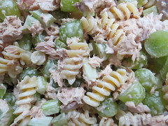 pasta salad, salad, vegetable, fusilli, pasta, food, dish, cuisine,