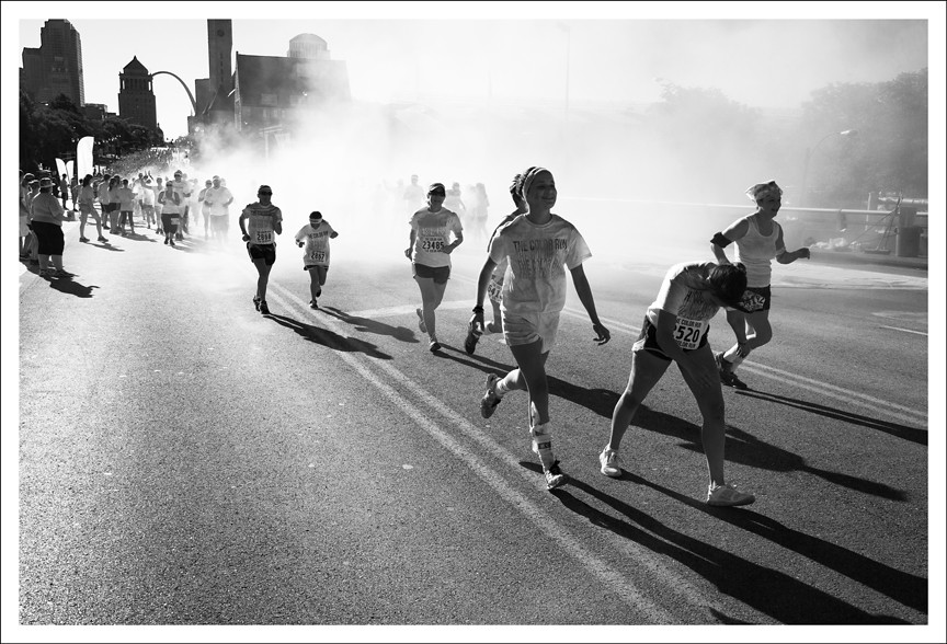 Color Run 17 BW