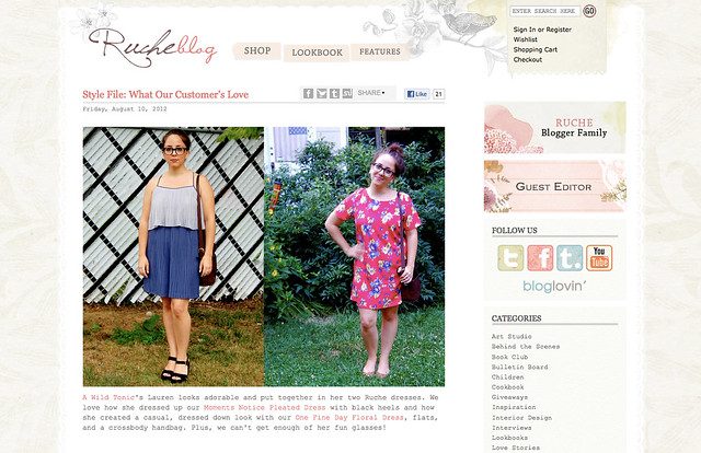 Ruche Blog Feature