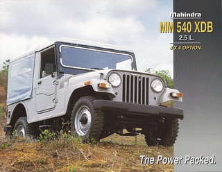 1997 Mahindra Jeep