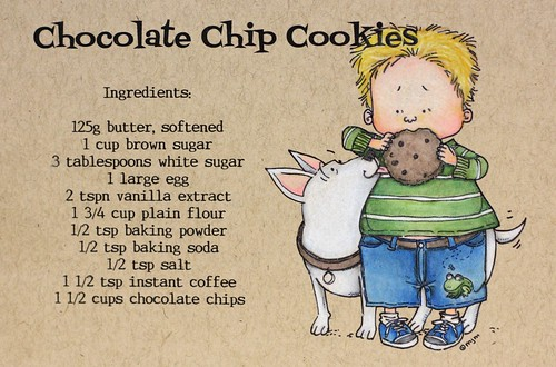 Cookie Recipe Card