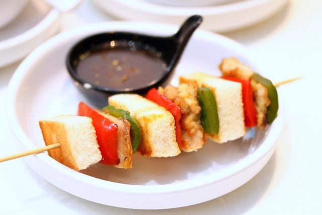 C-Jade HK Café IN: Kushiyaki Sandwich (串烧三文治)