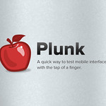 Plunk Logo And Tagline