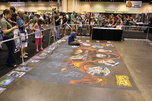 Chalk art - Star Wars Celebration VI