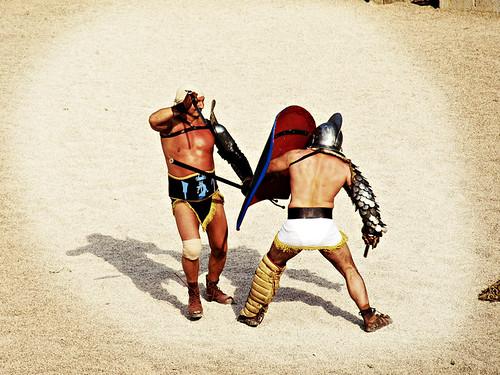 Leo, Gladiators, Tarraco Viva, Tarragona, Catalonia