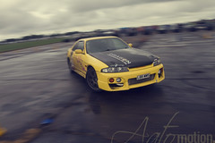 Nissan Skyline R33 drifting