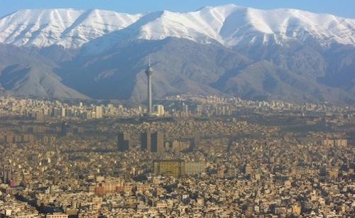 Mountains above Tehran