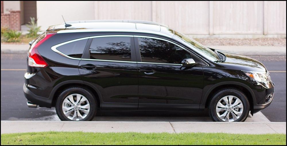 My New 2012 Honda CRV EX-L